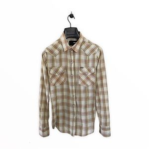 Hurley Long Long Plaid Buttons Down Shirts Size M